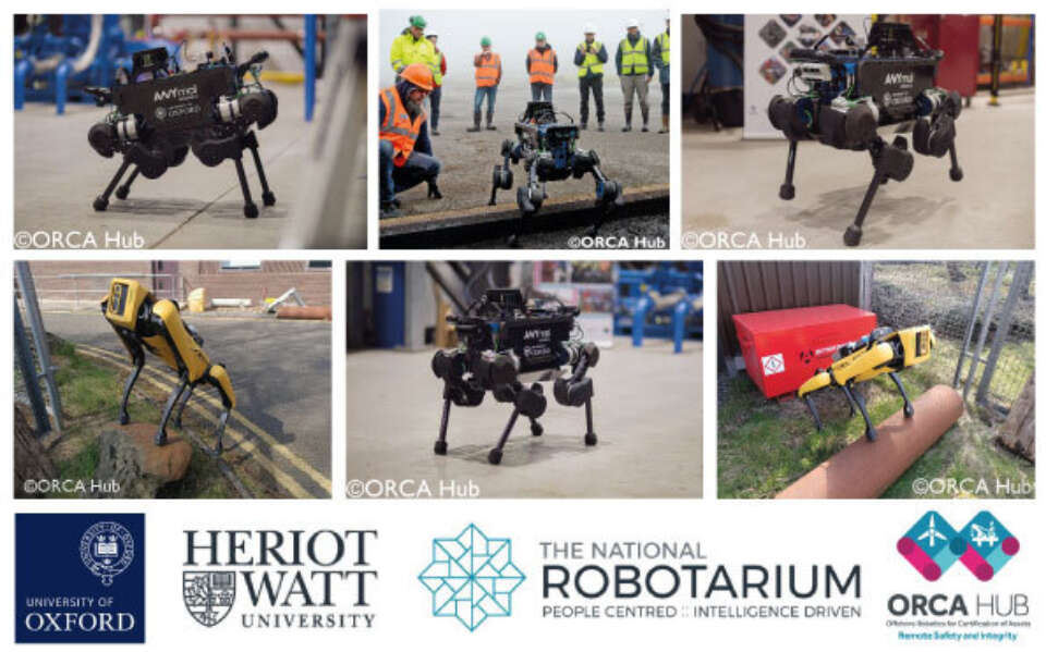 Legged Robots are being increasingly adopted in a range of industrial settings