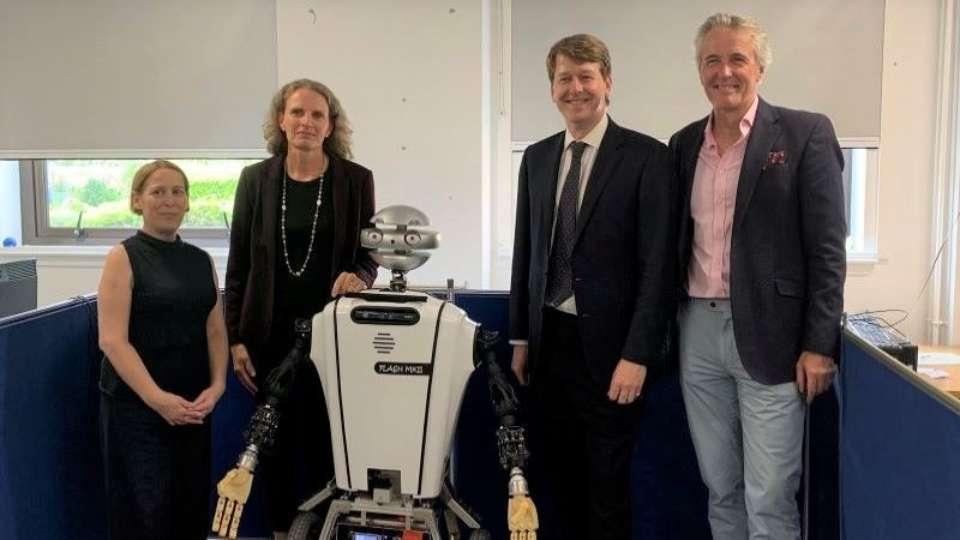 UK Government Minister for Scotland visits Heriot-Watt University