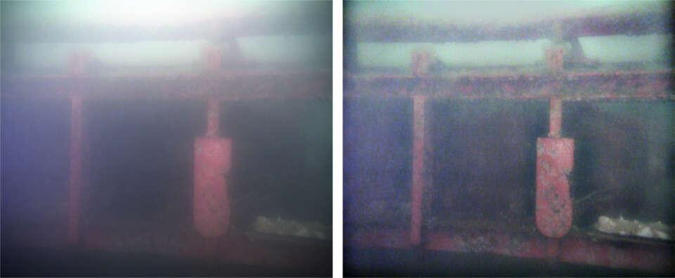 underwater image enhancement